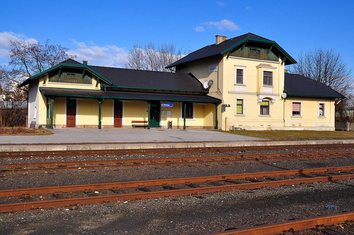 Bahnstation Viktring im XI. Stadtbezirk Sankt Ruprecht